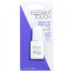 Brush On Clear Nail Glue 6ml