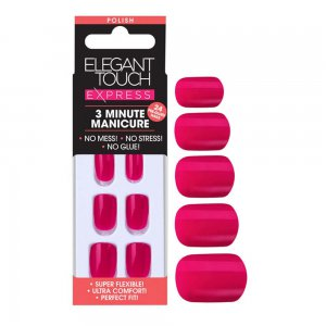Express Bright Pink Nails
