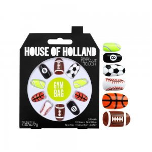 House of Holland Gym Bag Nails