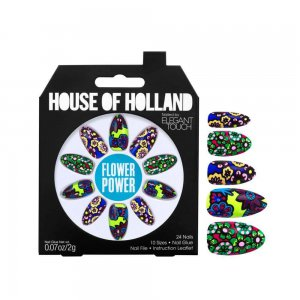 House of Holland Flower Power Nails