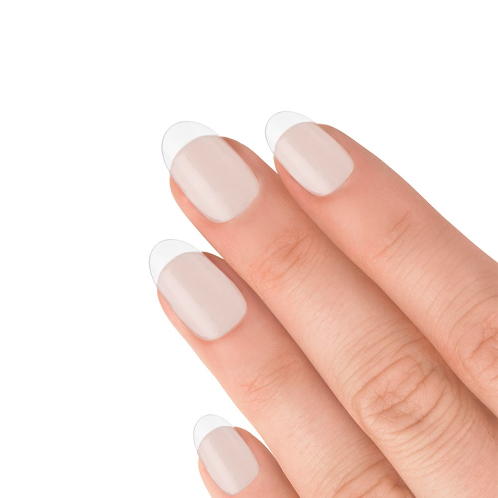 Elegant Touch Totally Clear Short Oval 100