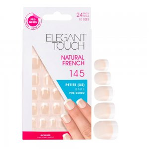 Natural French Manicure Bare Nails 145 (Petite)