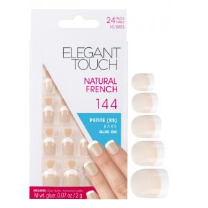 Natural French Manicure Bare Nails 144 (Petite)