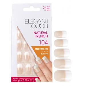 Natural French Manicure Bare Nails 104 (Medium)