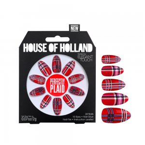 House of Holland Perfectly Plaid Nails