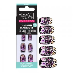 Express Floral Leopard Nails