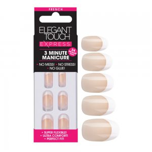 Express French Oval Bare Nails