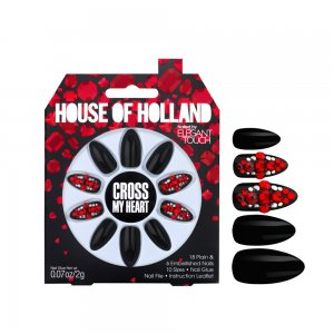 House of Holland Cross My Heart Nails