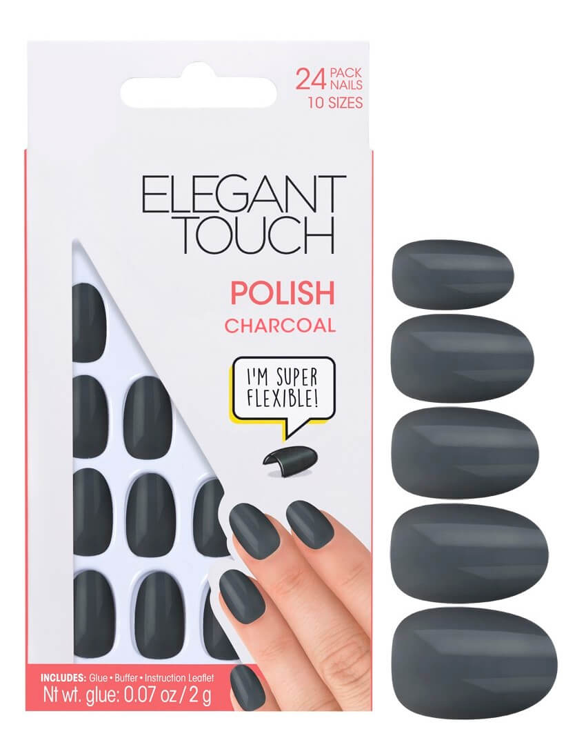 Elegant Touch Polish Charcoal