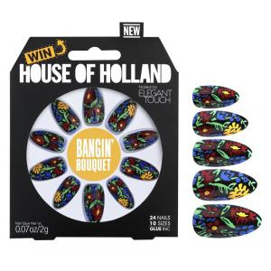 House of Holland Bangin Bouquet Nails