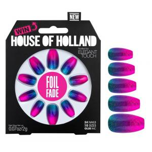 House of Holland Foil Fade Nails