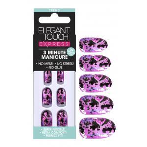 Express Pink Foil Nails