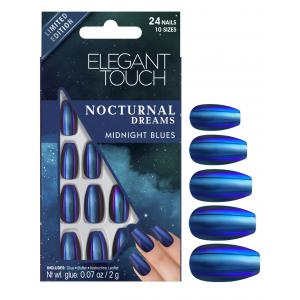 Nocturnal Dreams Nails - Midnight Blues