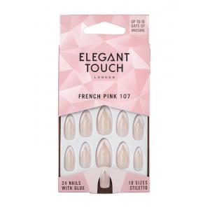 ET French Nails - 107 (Pink)